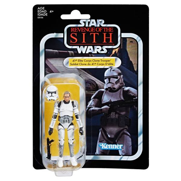x_hase5156 Star Wars EP II Vintage Collection Akciófigura 2019 - 41st Elite Corps Clone Trooper Exclusive 10 cm