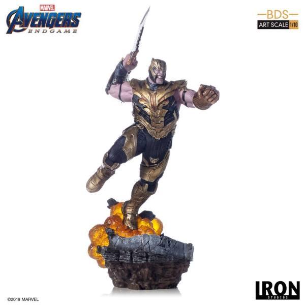 Avengers Endgame BDS Art Scale Szobor - 1/10 Thanos 36 cm