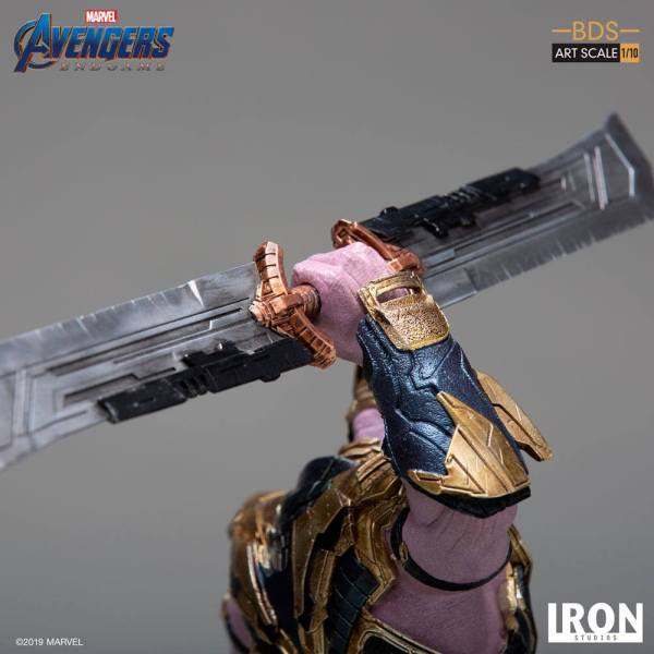 x_is30273 Avengers Endgame BDS Art Scale Szobor - 1/10 Thanos 36 cm