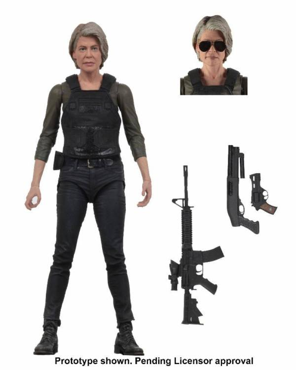 Terminator: Dark Fate akciófigura - Sarah Connor 18 cm