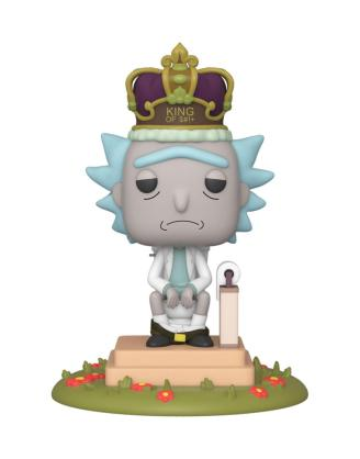 Rick and Morty Electronic Funko POP! figura – Rick on Toilet 9 cm