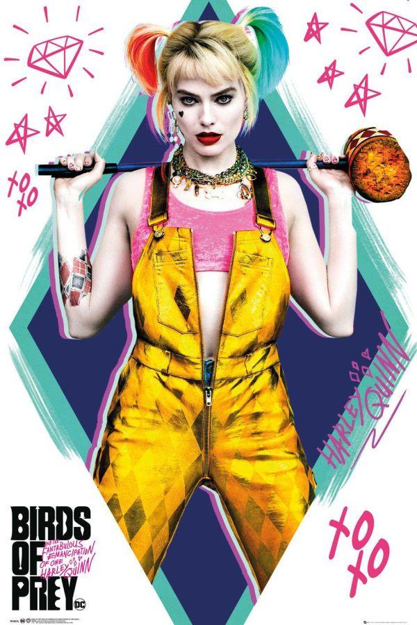Birds of Prey Poster Pack Harley Quinn 61 x 91 cm