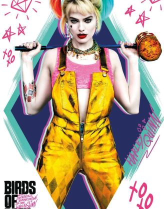 Birds of Prey Poster Pack Harley Quinn 61 x 91 cm