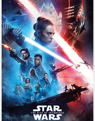 Star Wars poszter - Saga 61 x 91 cm