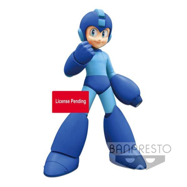 Mega Man Grandista PVC Szobor - Mega Man Exclusive Lines 23 cm