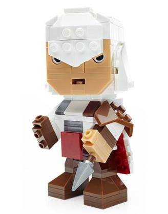 x_clr-2964 Assassin's Creed Mega Construx Kubros Construction Set - Ezio 14 cm