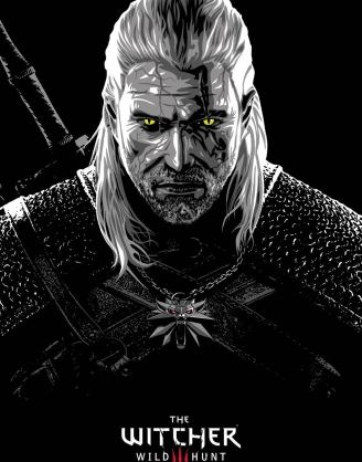 The Witcher poszter - Geralt 61 x 91 cm