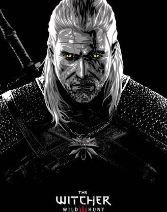 The Witcher poszter - Geralt 61 x 91 cm