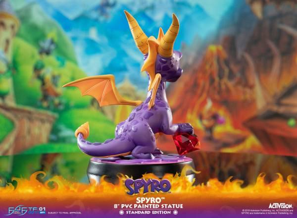 x_f4ftfspyror Spyro the Dragon PVC Szobor - Spyro 20 cm