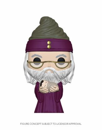 Harry Potter Funko POP! Figura - Dumbledore w/Baby Harry 9 cm