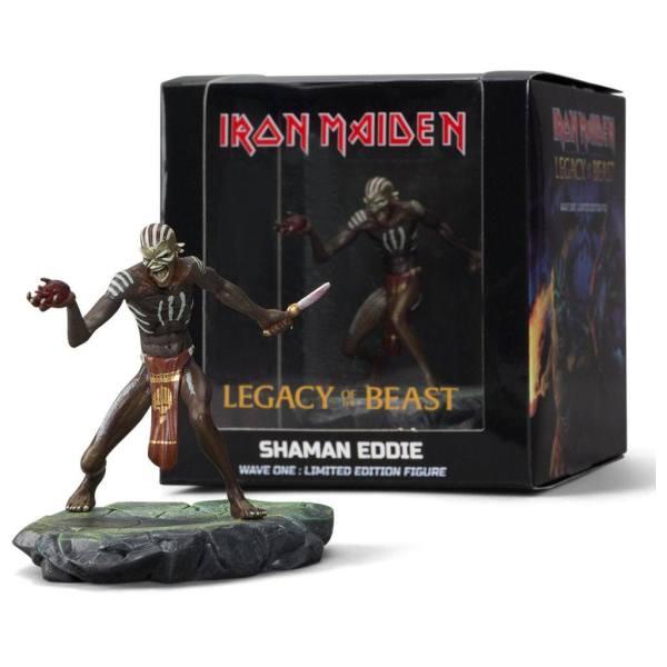 x_imc-0004_c Iron Maiden Legacy of the Beast PVC Szobor - Shaman Eddie 10 cm