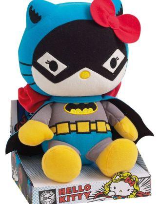 Hello Kitty DC Comics Plüss Figura - Batwoman 27 cm