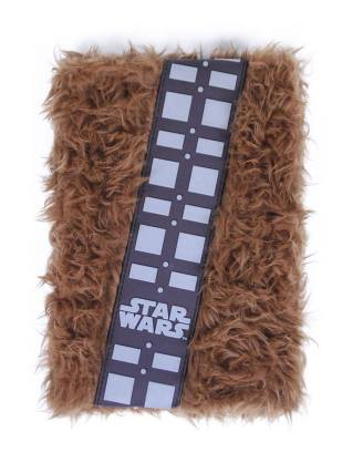 x_crd2100002746 Star Wars Premium Plush Notebook A5 Chewbacca