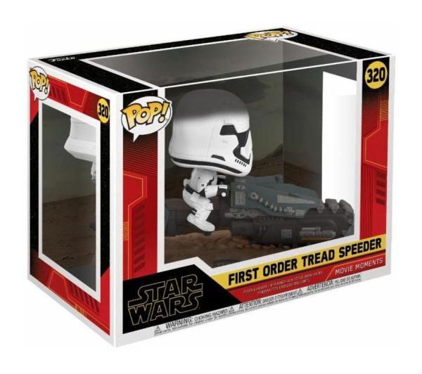 x_fk39915 Star Wars Episode IX Movie Moment Funko POP! Figura - First Order Tread Speeder 9 cm