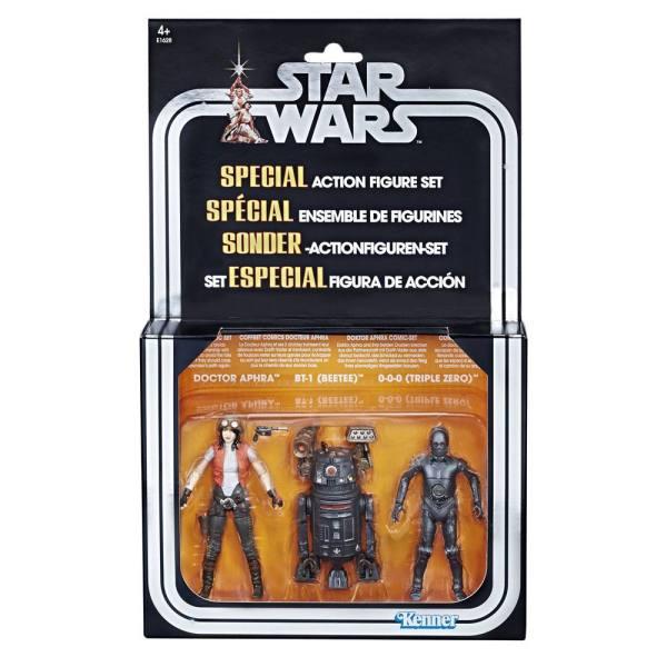 x_hase1628 Star Wars Premium Vintage Collection Akciófigura - 3-Pack Doctor Aphra Comic Set Exclusive 10 cm