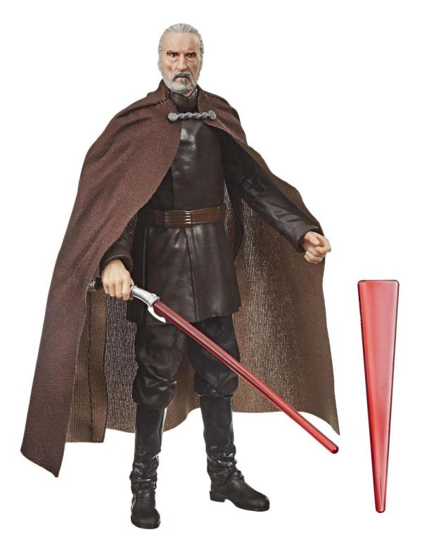 Star Wars Black Series Akciófigura - Count Dooku (Episode II) 15 cm