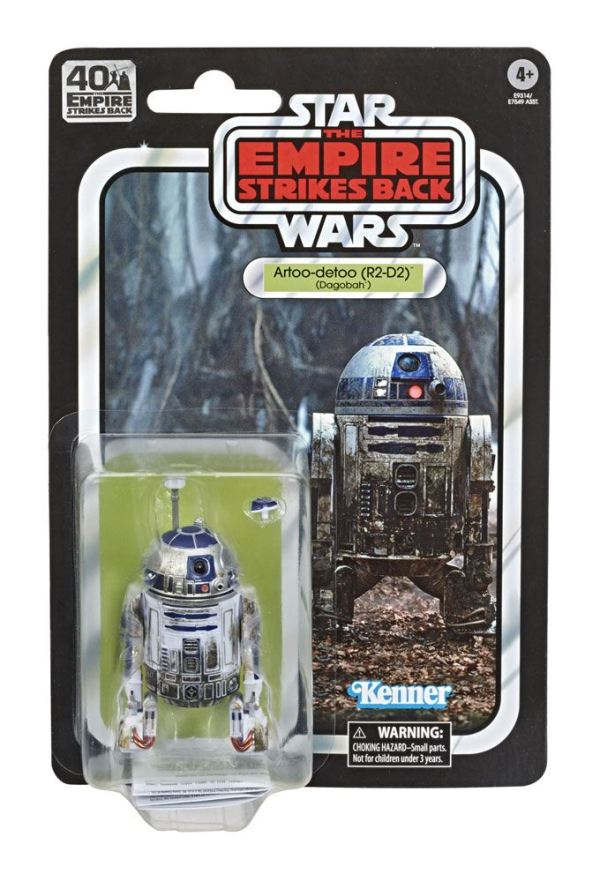 x_hase7549eu41_v Star Wars Black Series Akciófigura - R2-D2 (Dagobah) 40th Anniversary 15 cm