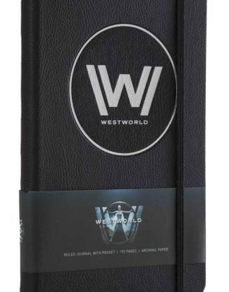 Westworld Hardcover Jegyzetfüzet - Logo