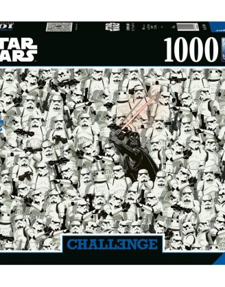 Star Wars Challenge Jigsaw Puzzle - Darth Vader & Stormtroopers (1000 pieces)