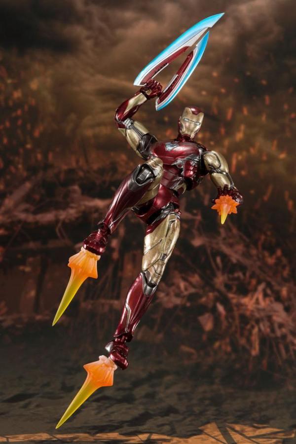 x_btn58732-9 Avengers: Endgame S.H. Figuarts Akciófigura - Iron Man Mk 85 (Final Battle) 16 cm