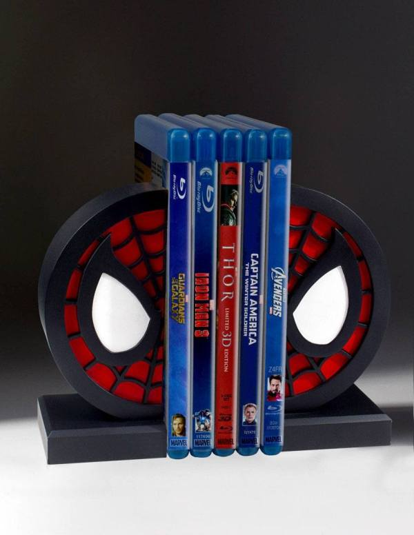 x_gent80723 Marvel Comics Bookends Spider-Man Logo 16 cm