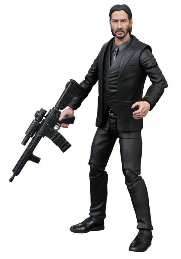 Diamond Select John Wick Chapter 2 Akciófigura - John Wick 18 cm