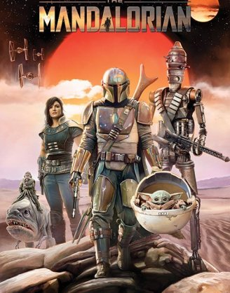 x_pp34642 Star Wars The Mandalorian poszter - Group 61 x 91 cm