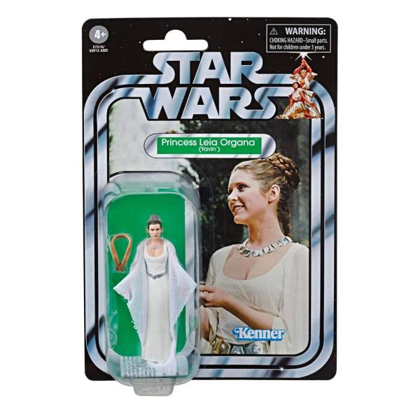 Star Wars Vintage Collection Akciófigura 2019 - Princess Leia Organa (Yavin) (Episode VI) 10 cm