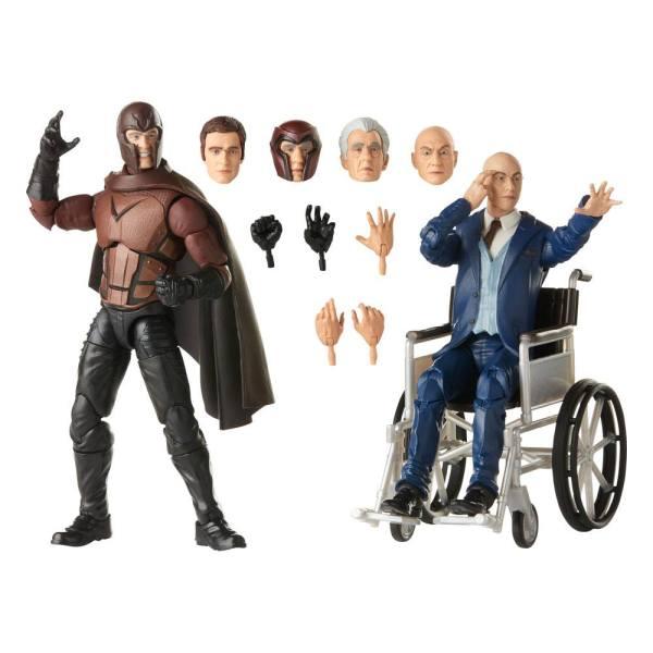 X-Men Marvel Legends Akciófigura 2020 - Magneto & Professor X 15 cm