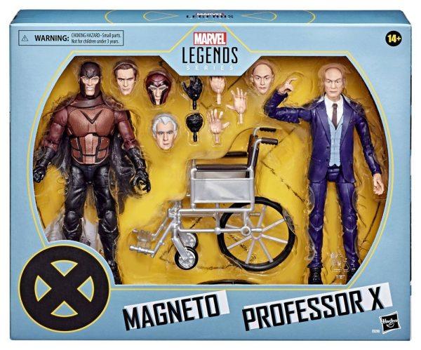 x_hase9290 X-Men Marvel Legends Akciófigura 2020 - Magneto & Professor X 15 cm
