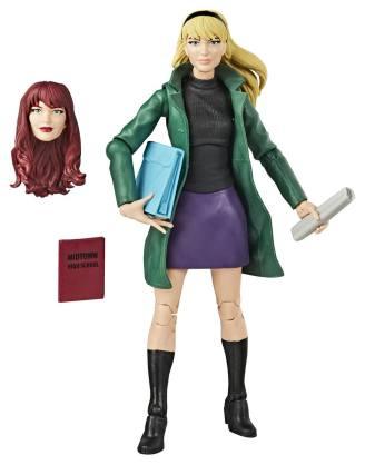 x_hase9312eu40_i Marvel Legends Retro Collection Akciófigura Spider-Man 2020 - Gwen Stacy 15 cm