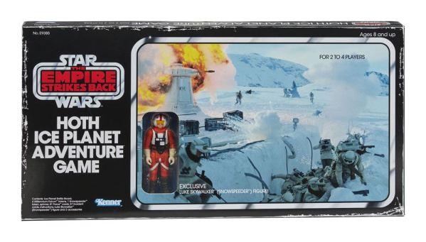 x_hase9385102 Star Wars Episode V Társasjáték Akciófigurával Hoth Ice Planet Adventure Game / társasjáték *English Version*