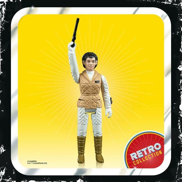 Star Wars Episode V Retro Collection Akciófigura 2020 - Leia (Hoth) 10 cm