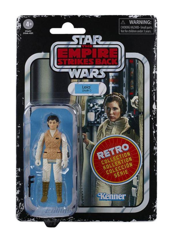 x_hase9646eu40_b Star Wars Episode V Retro Collection Akciófigura 2020 - Leia (Hoth) 10 cm