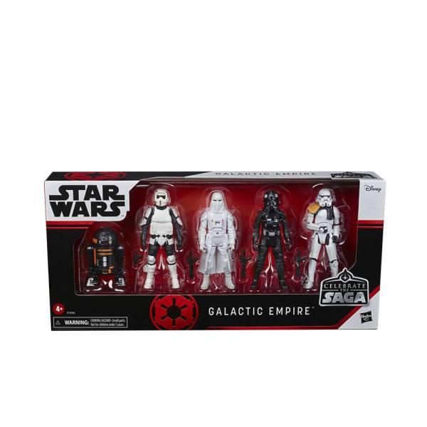 x_hasf1416 Star Wars Celebrate the Saga Akciófigura 5-Pack - Galactic Empire 10 cm