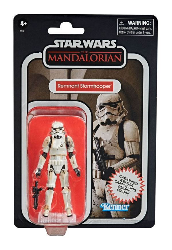x_hasf1421 Star Wars The Mandalorian Vintage Collection Carbonized Akciófigura 2020 - Remnant Stormtrooper 10cm