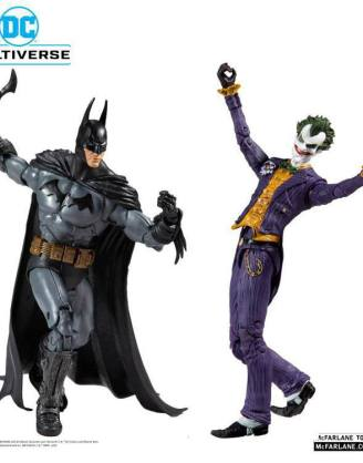 DC Multiverse Action Figure Collector Multipack Arkham Asylum Batman VS Arkham Asylum Joker 18 cm