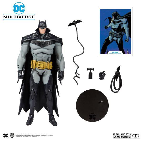 x_mcf15406-1 DC Multiverse Akciófigura - White Knight Batman 18 cm