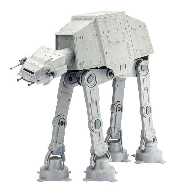 Star Wars Model Kit - 1/53 AT-AT - 40th Anniversary 38 cm