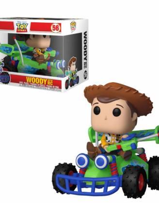 Toy Story Funko POP! Rides Vinyl Figura - Woody & RC 15 cm