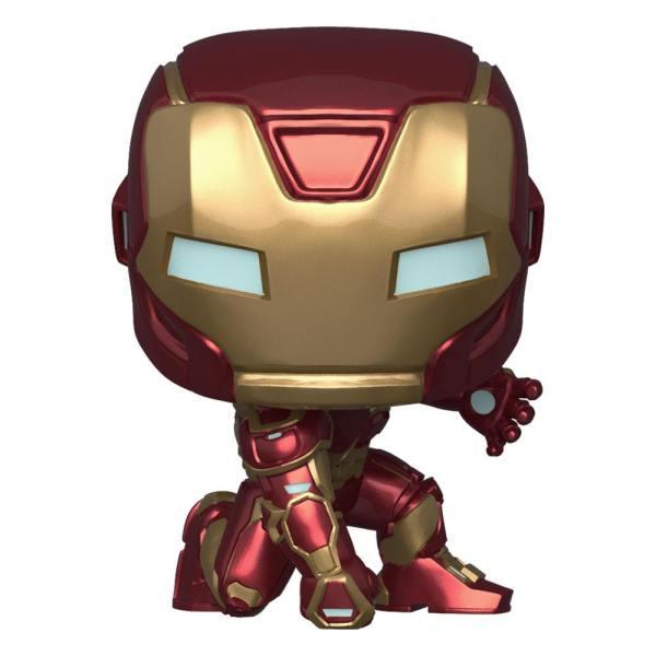 x_fk47756 Marvel's Avengers (2020 video game) Funko POP! Figura - Iron Man 9 cm