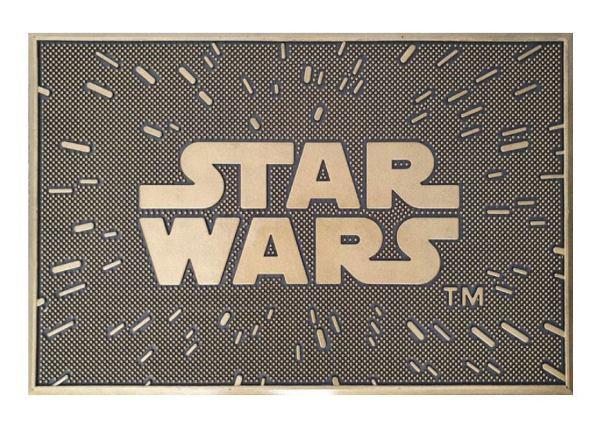 Star Wars gumi lábtörlő - Logo 40 x 60 cm