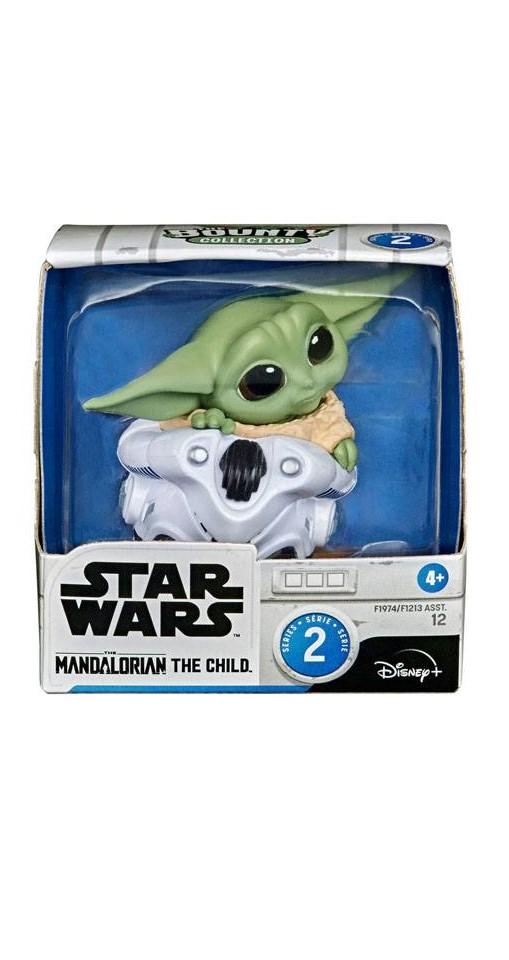 Star Wars Mandalorian Bounty Collection Figura - The Child Helmet Hiding