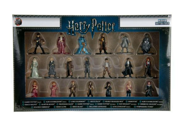 x_jada30010 Harry Potter Nano Metalfigs Diecast Mini Figurák 20-Pack Wave 2 4 cm