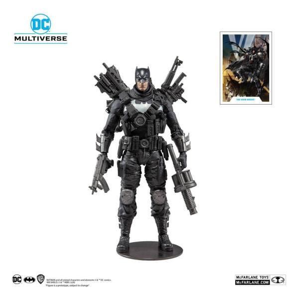 DC Multiverse Akciófigura - Dark Nights Metal Grim Knight 18 cm