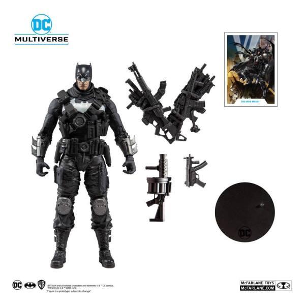 x_mcf15412-2 DC Multiverse Akciófigura - Dark Nights Metal Grim Knight 18 cm