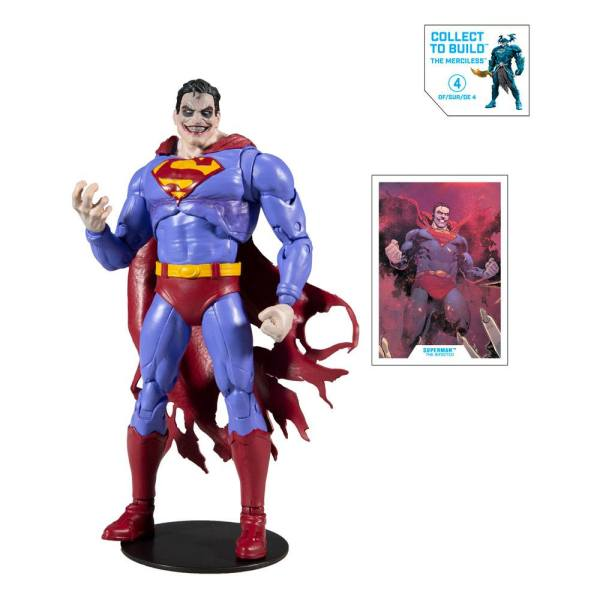 x_mcf15423-8 DC Multiverse Build A Akciófigura - Superman The Infected 18 cm