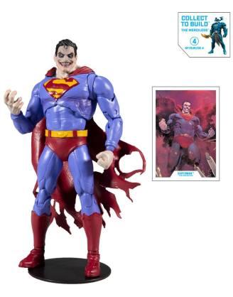 x_mcf15423-8 DC Multiverse Build A Akciófigura - Superman The Infected 18 cm