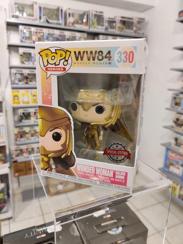 Wonder Woman 1984 POP! Figura – Wonder Woman Golden Armor (Wings Out) 9cm