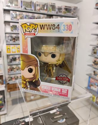 Wonder Woman 1984 POP! Figura – Wonder Woman Golden Armor (Wings Out) 9cm